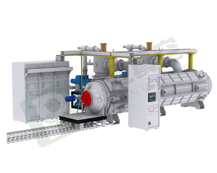 HLB Series Large-scale Sheet & Pipe Vacuum Coating Machine